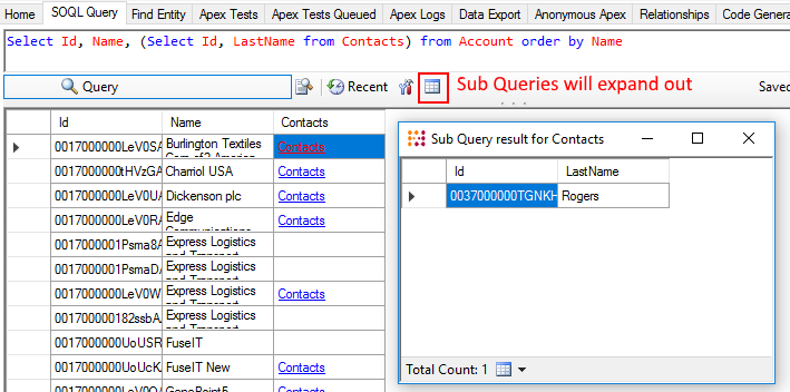Soql Nested Query Limit