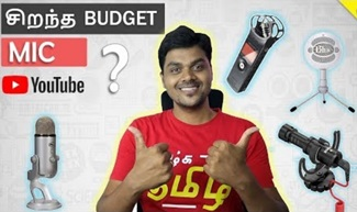 Best Budget Mic For YouTube with Smartphone & DSLR | Tamil Tech