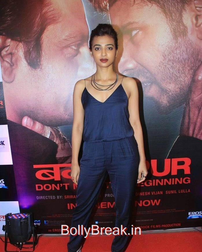 Radhika Apte, Hot Pics of Sonakshi Sinha, Shraddha Kapoor At 'Badlapur' Success Bash