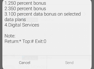 How to subscribe to etisalat 100% data bonus Offer