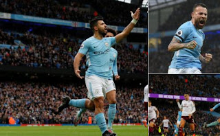 Manchester City Taklukkan Burnley 3-0 Highlights