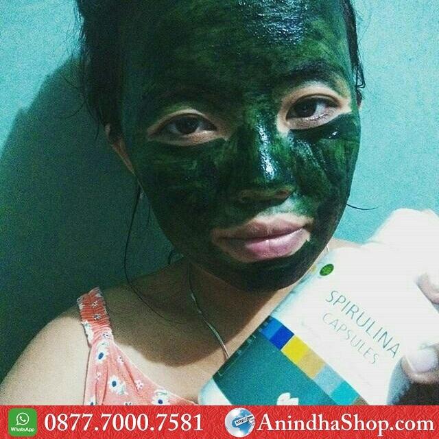 Masker Spirulina Cimahi