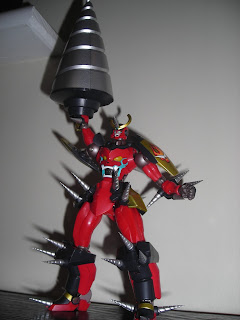 Super Robot Chogokin Gurren Lagann Drill Set of Manliness 01