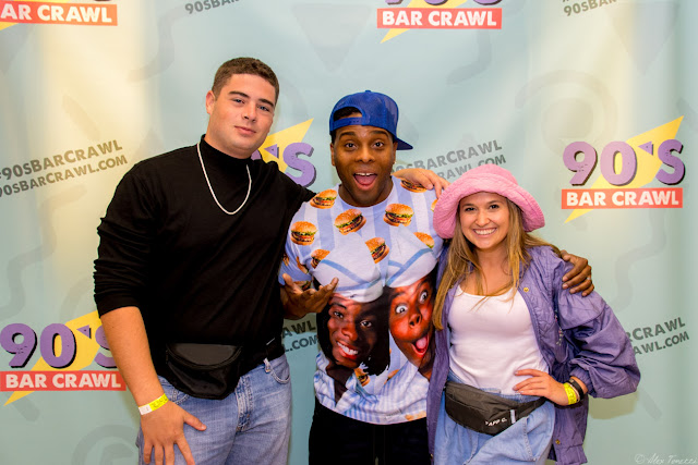 A couple meets Kel Mitchell from Nickelodeon's Keenan & Kel