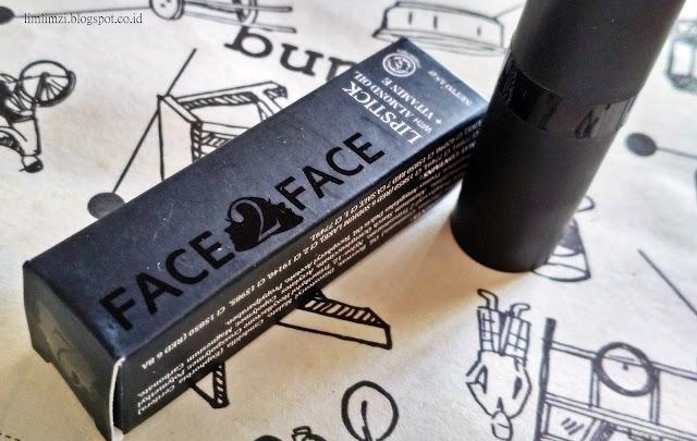Face2Face Lipstick (Electric Pink Lipstick 001, Pure Red Lipstick 004, Deep Plum Lipstick 016)