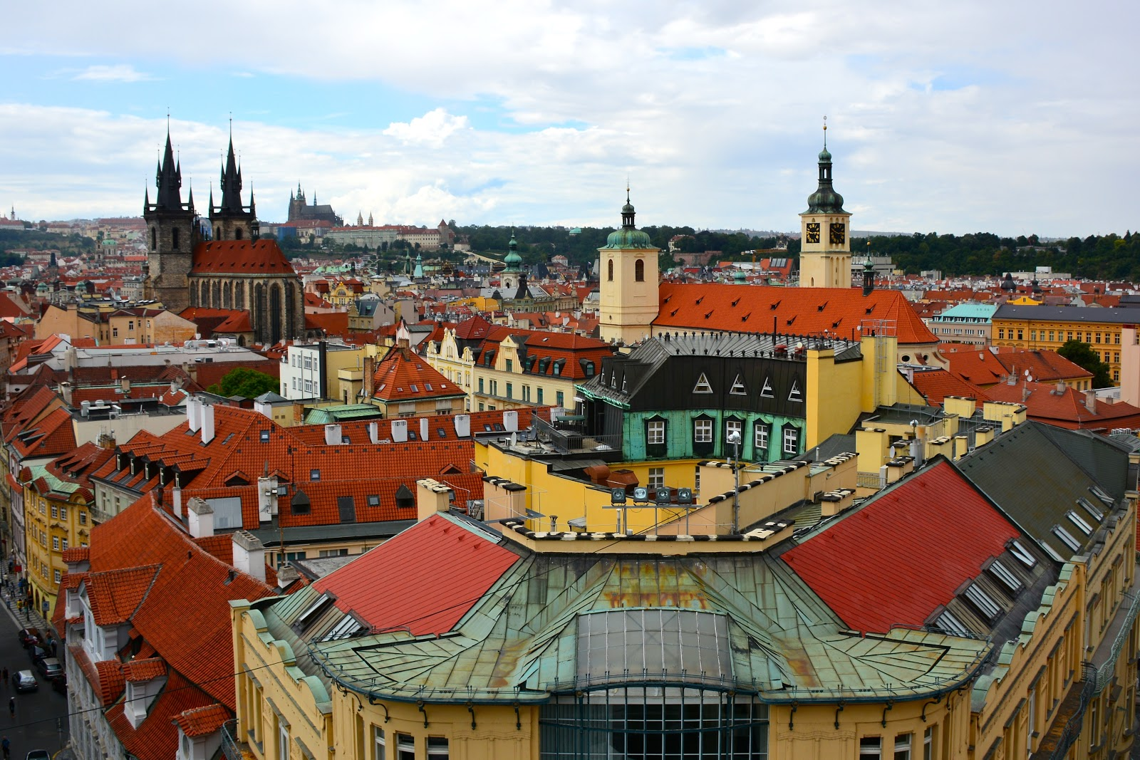 Prague's old city center