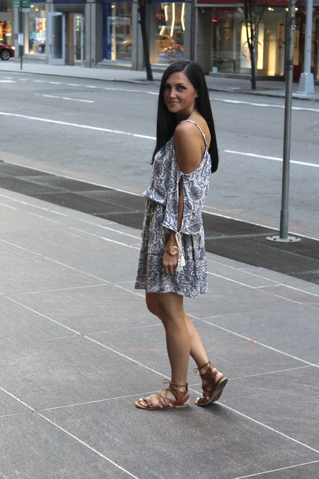 Mom style in New York City