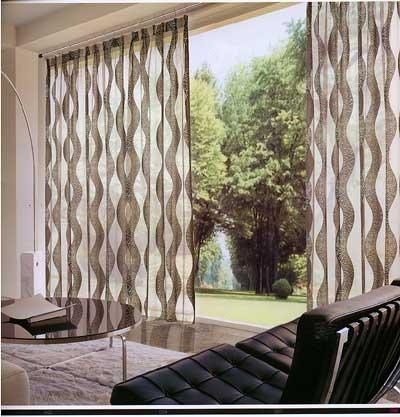 Modernas Cortinas de Interiores  Ideas para decorar