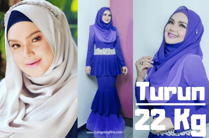 Siti Nurhaliza Sukses Menurunkan Berat Badan