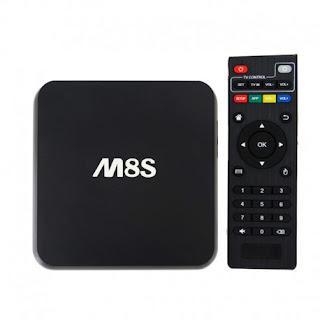 TV BOX 4K WIFI M8S 4K