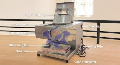 Bán máy thái thịt bò mini giá rẻ tại Hà Nội