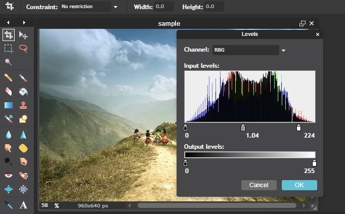 color grading dengan cara online