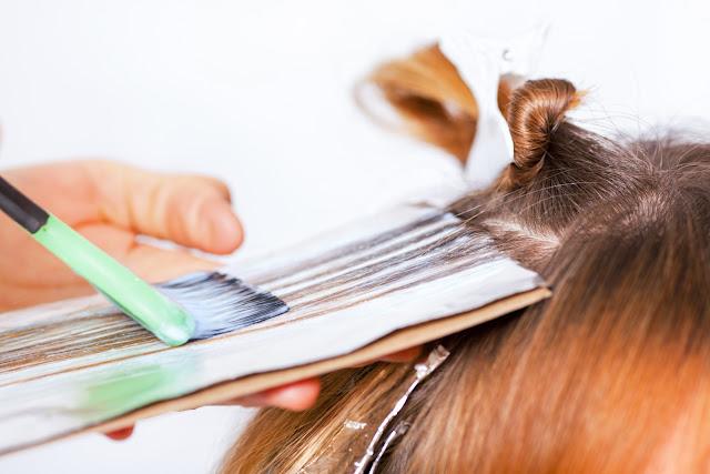 Dạy học nhuộm tóc Balayage Tia Nắng phong cách Tây Âu
