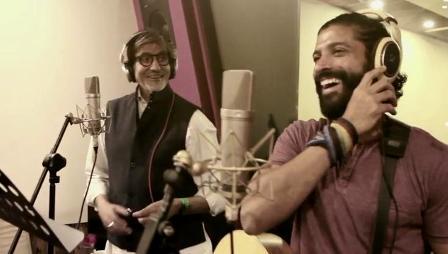 Amitabh Bachchan and Farhan Akhtar | Atrangi Yaari Lyrics - Wazir (2016)