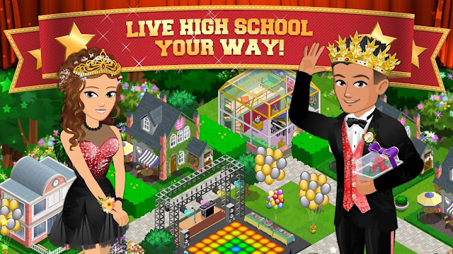 High School Story MOD Unlimited Money Coins Gems Full Unlocked v4.6.0 Apk Terbaru