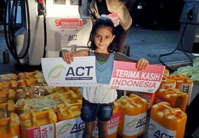 Warga Gaza: Demi Allah, Orang Indonesia Sangat Mulia!