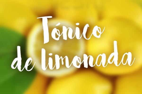 tonico de limonada