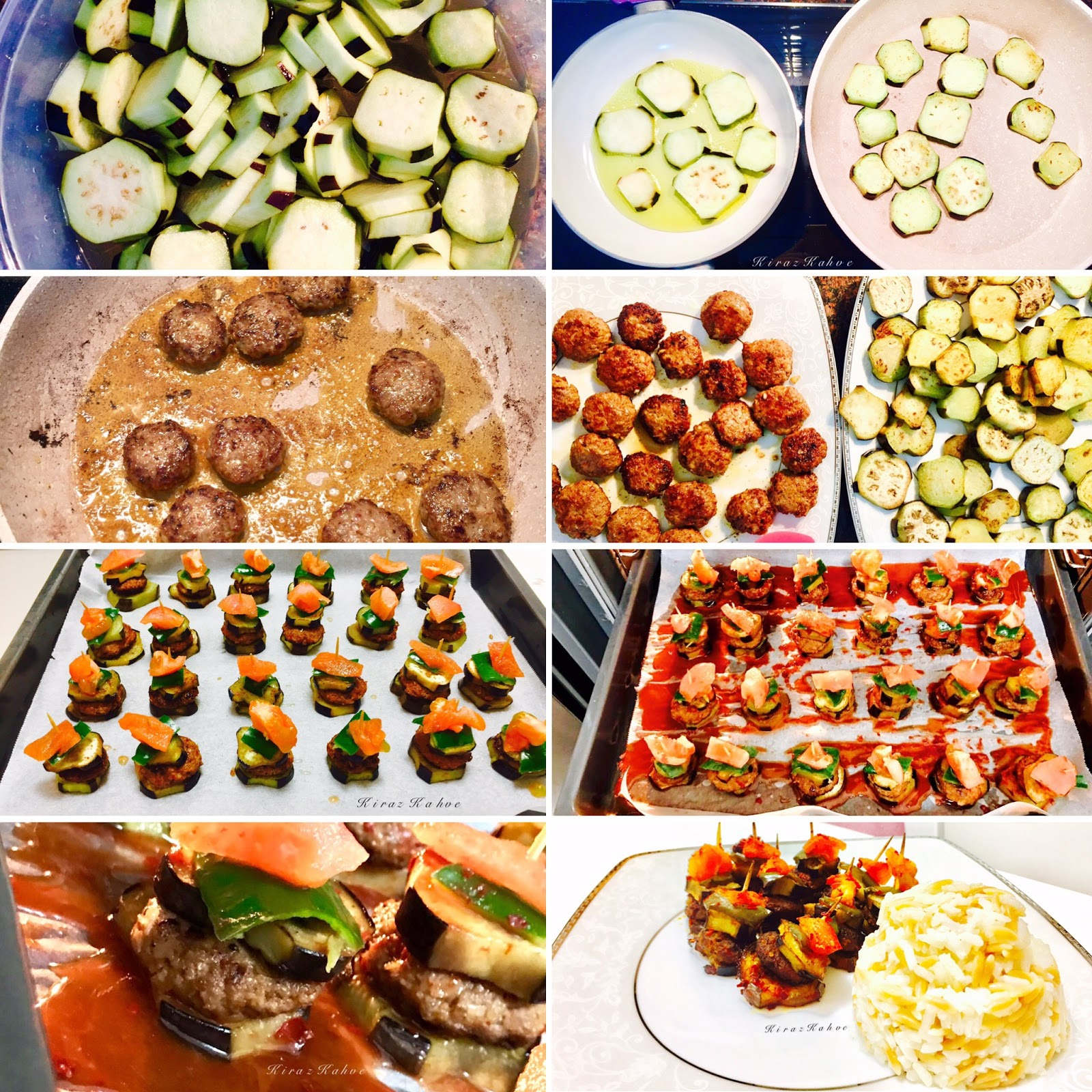 Patlıcanlı Köfte Kebap Tarifi