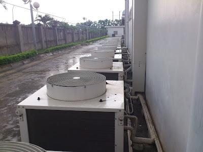 Nhà máy Modorri Vĩnh Phúc bảo dưỡng hệ thống điều hòa