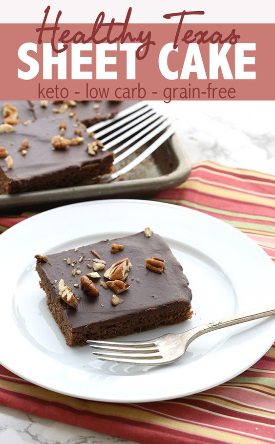 TEXAS SHEET CAKE – KETO RECIPE