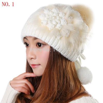 gorro feminino touca feminina chapeu quente cabeça mulher inverno look branco creme fofo meigo jovem