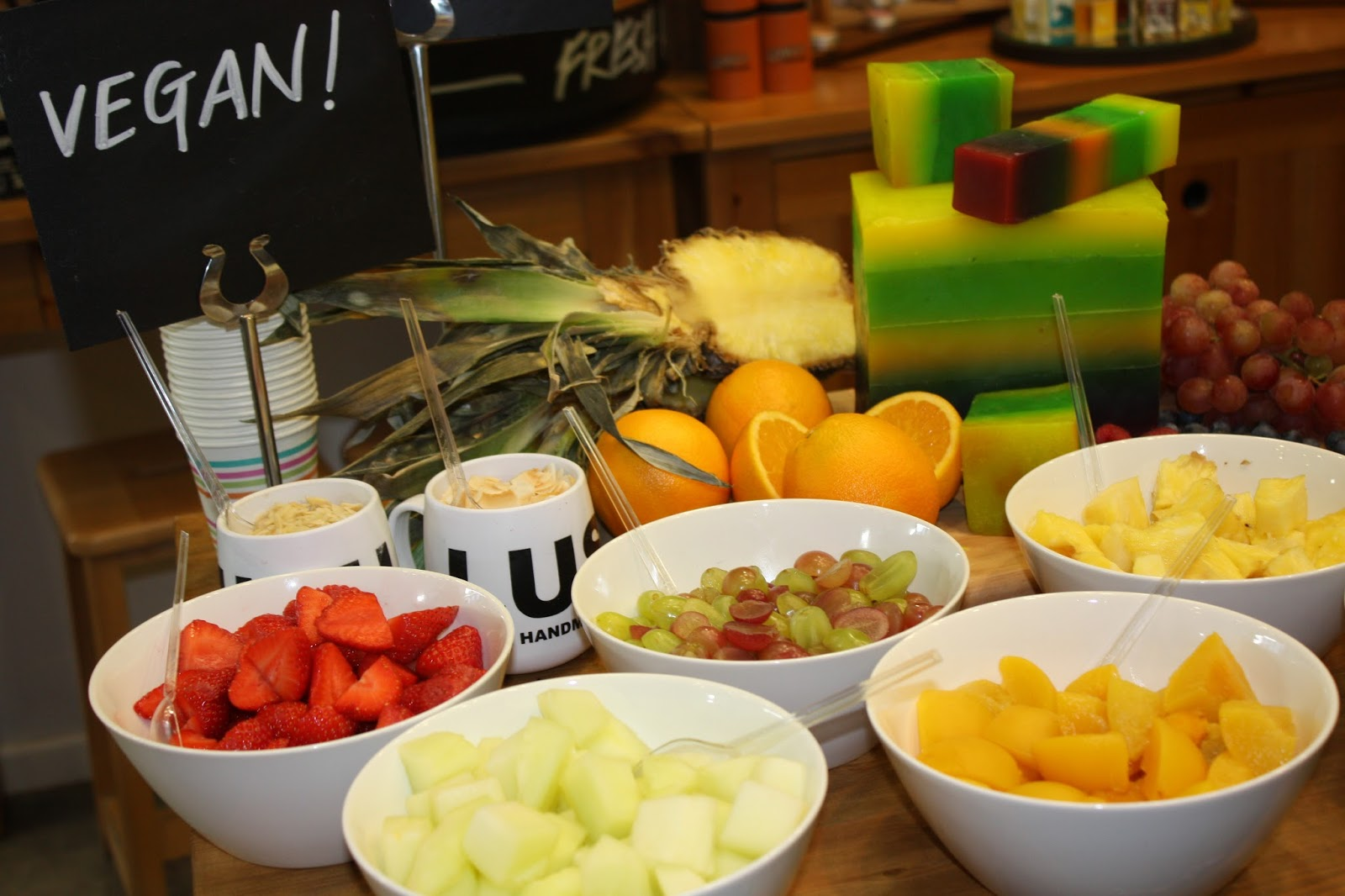 Lush Summer Event Oxford Street Launch