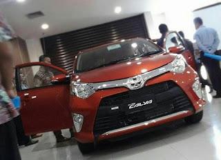 Toyota Calya Karawang
