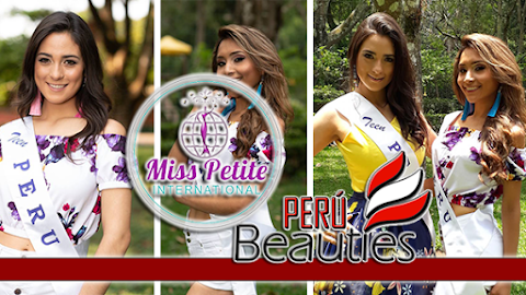 Peruanas en Miss y Teen Petite International 2018