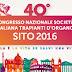 40° Congresso Nazionale Società Italiana Trapianti d'Organo - SITO 2016