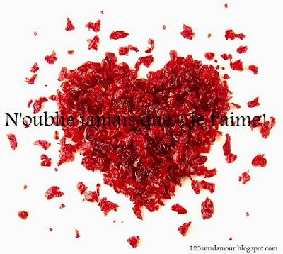 Message d amour pour elle qui touche
