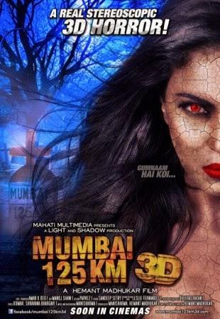 Mumbai 125 KM 3D (2014) Movie Poster No. 1