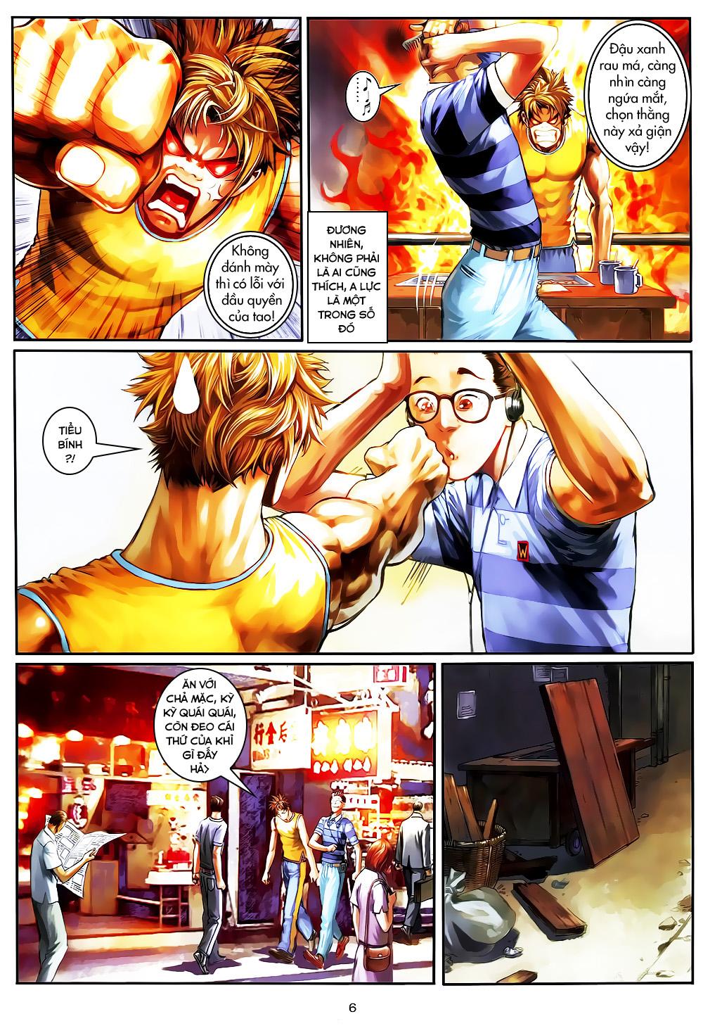 Quyền Đạo chapter 4 trang 6