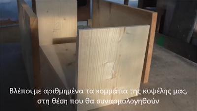 Μελισσοκομικός Εξοπλισμός: Κατασκευάστε μόνοι σας κυψέλες!
