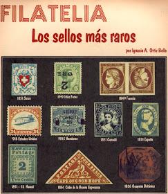 Fotografías Filatelia Numismática Y Vídeos Del Canal Ramón Palmeral Los Sellos Más Caros Por Su Rareza
