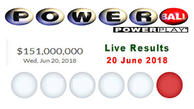 Powerball jackpot results 20 June 2018