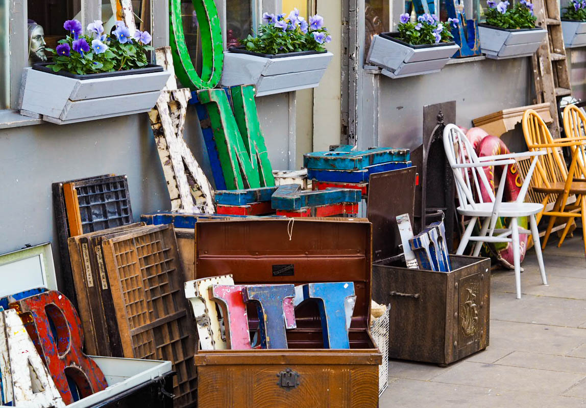 Old Town vintage shopping Margate