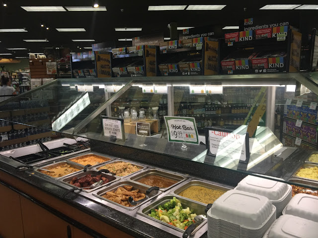The hot bar at Lassens Natural Foods & Vitamins in Bakersfield