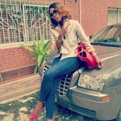 stephanie okereke car photo