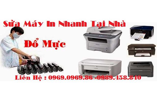 sửa chữa máy in, đổ mực máy in tại nhà Hà Nội LH 0969.0969.86
