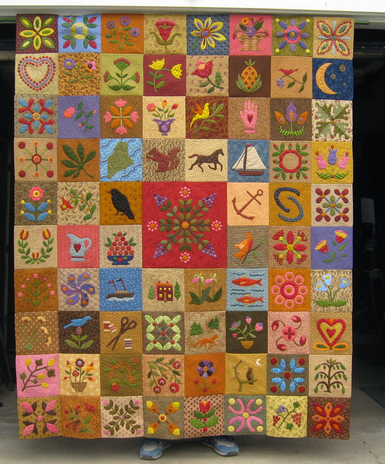 The Constant Quilter: Pot Holder Quilts