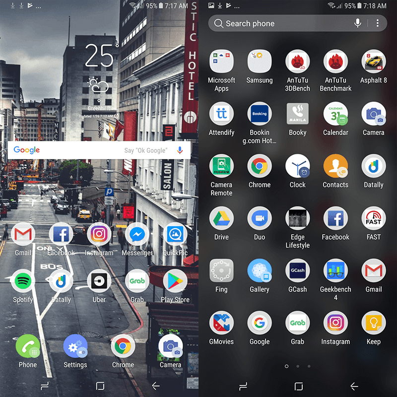 Clean Android skin