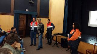 Representante da AMAPOSSE participa do curso básico da Defesa Civil em Teresópolis