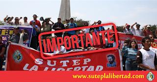 SUTEP La Libertada logra el pago de la deuda del 30% en la región