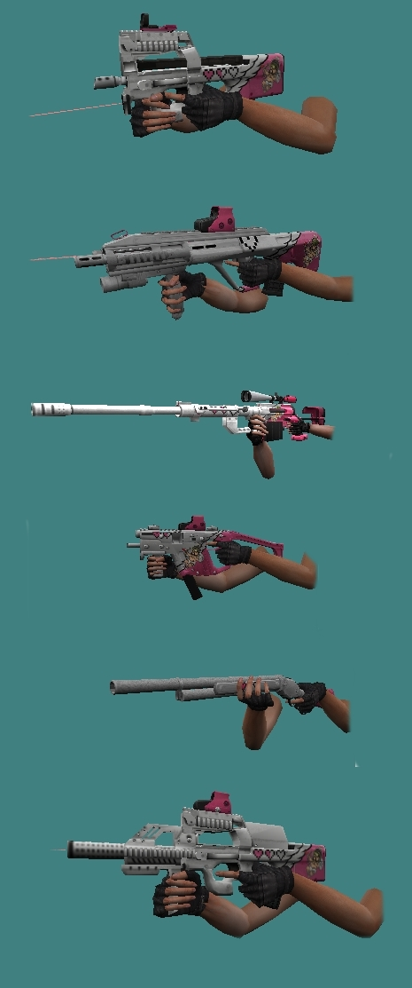 armas do point blank para cs 1.6