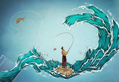La parábola zen que nos muestra cómo hacemos una tormenta en un vaso de agua