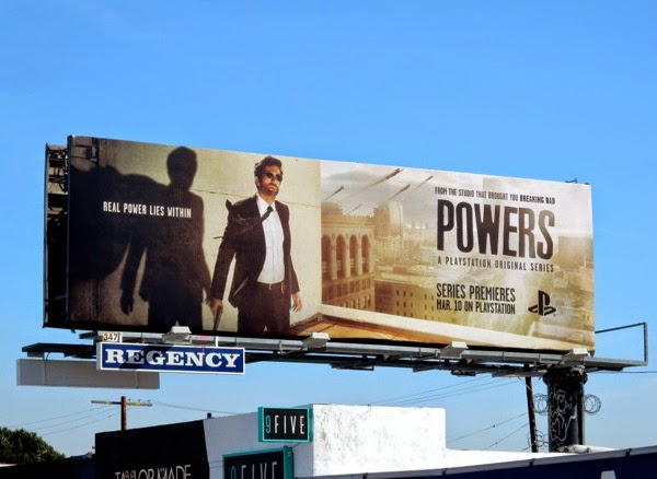 Powers season 1 billboard