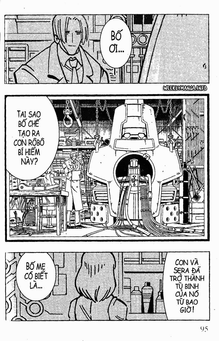 Shaman King [Vua pháp thuật] chap 195 trang 18