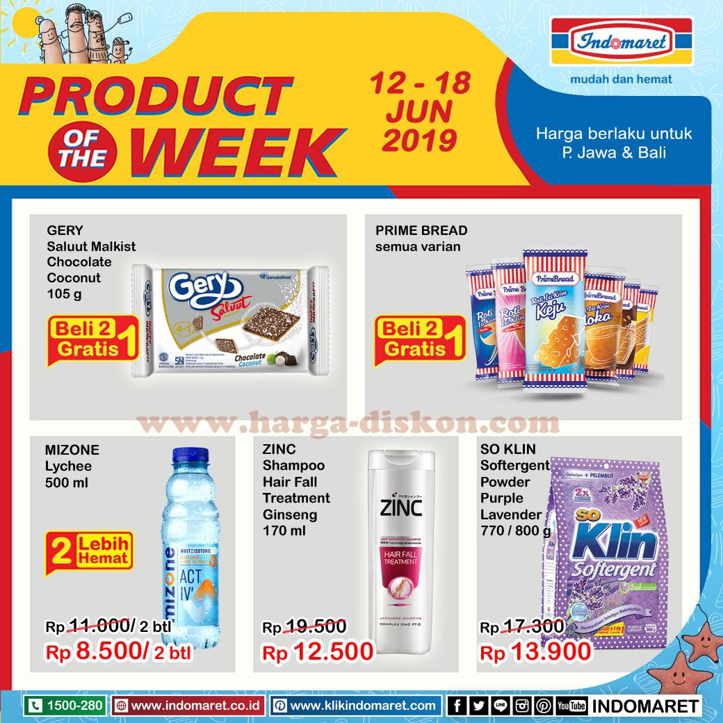Promo INDOMARET Terbaru Product of the Week Periode 12-18 Juni 2019