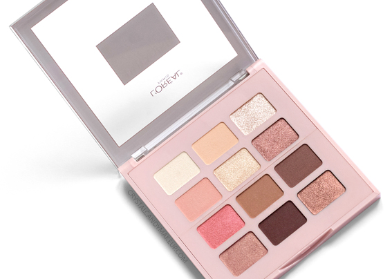 L'Oreal Paris Paradise Enchanted Scented Eye Shadow Palette Review Photos Swatches
