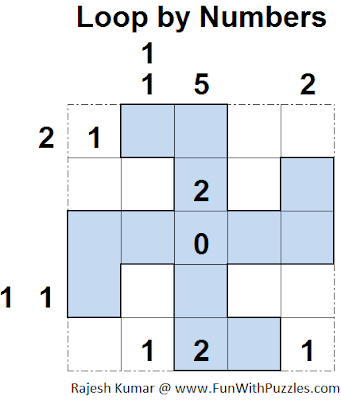 Loop by Numbers (Mini Puzzles Series #22) Solution
